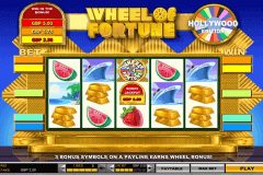 wheel of fortune hollywood edition igt gokkast