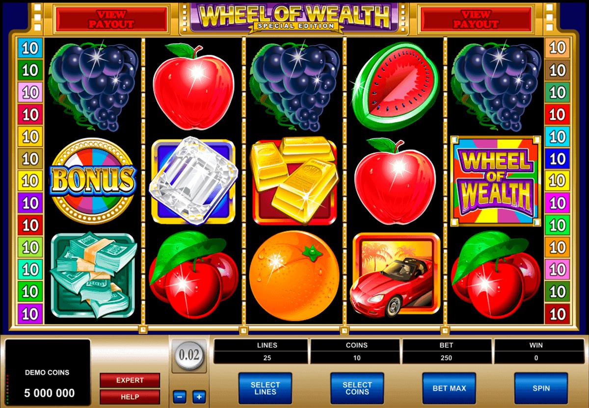 Wheel of Wealth slot - spil online slot gratis