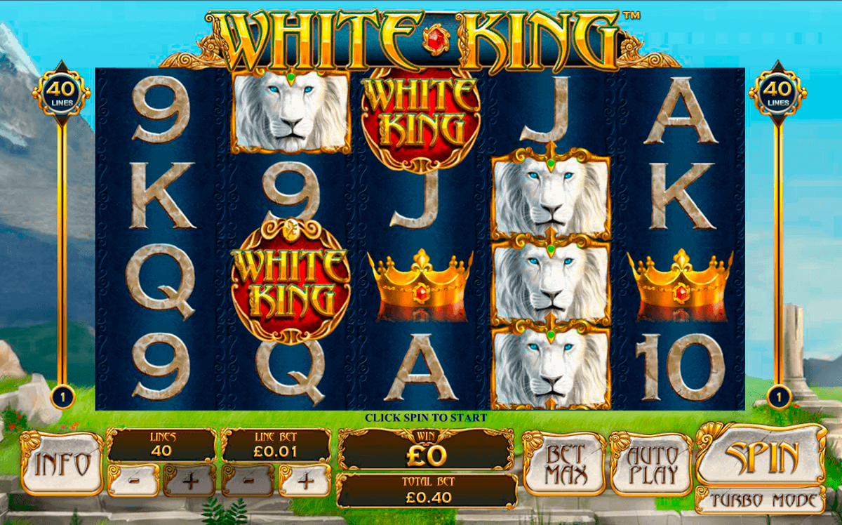 white king playtech gokkast