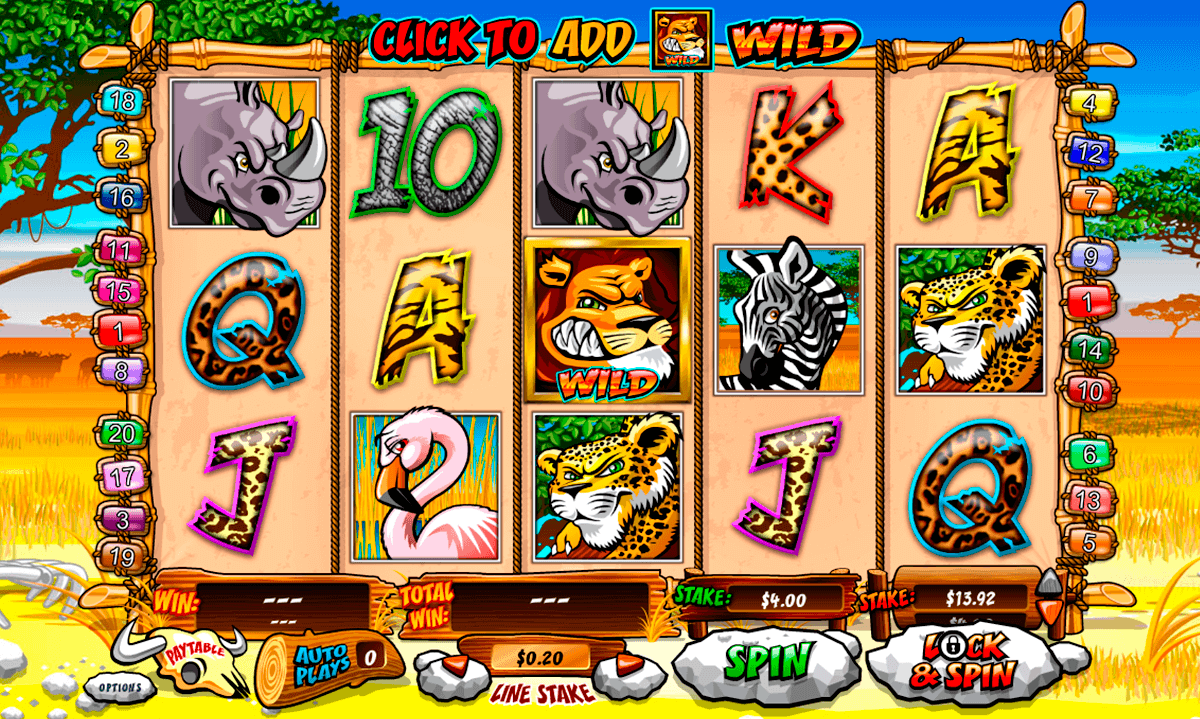 wild gambler playtech gokkast
