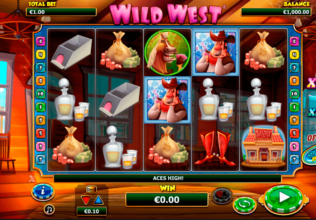 wild west netgen gaming gokkast