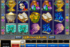 witches wealth microgaming gokkast