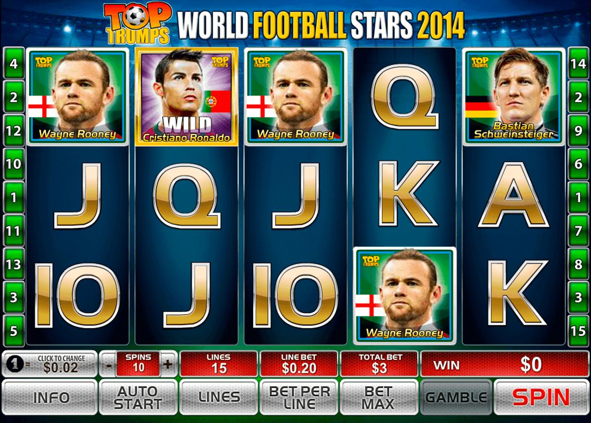 world football stars  playtech gokkast