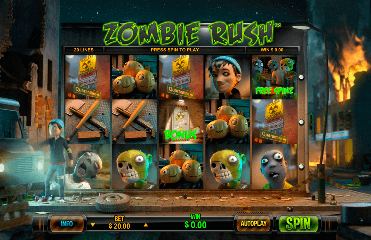 zombie rush leander gokkast