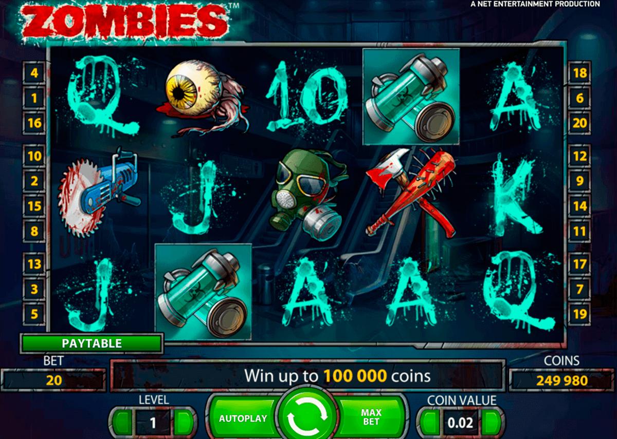 zombies netent gokkasten